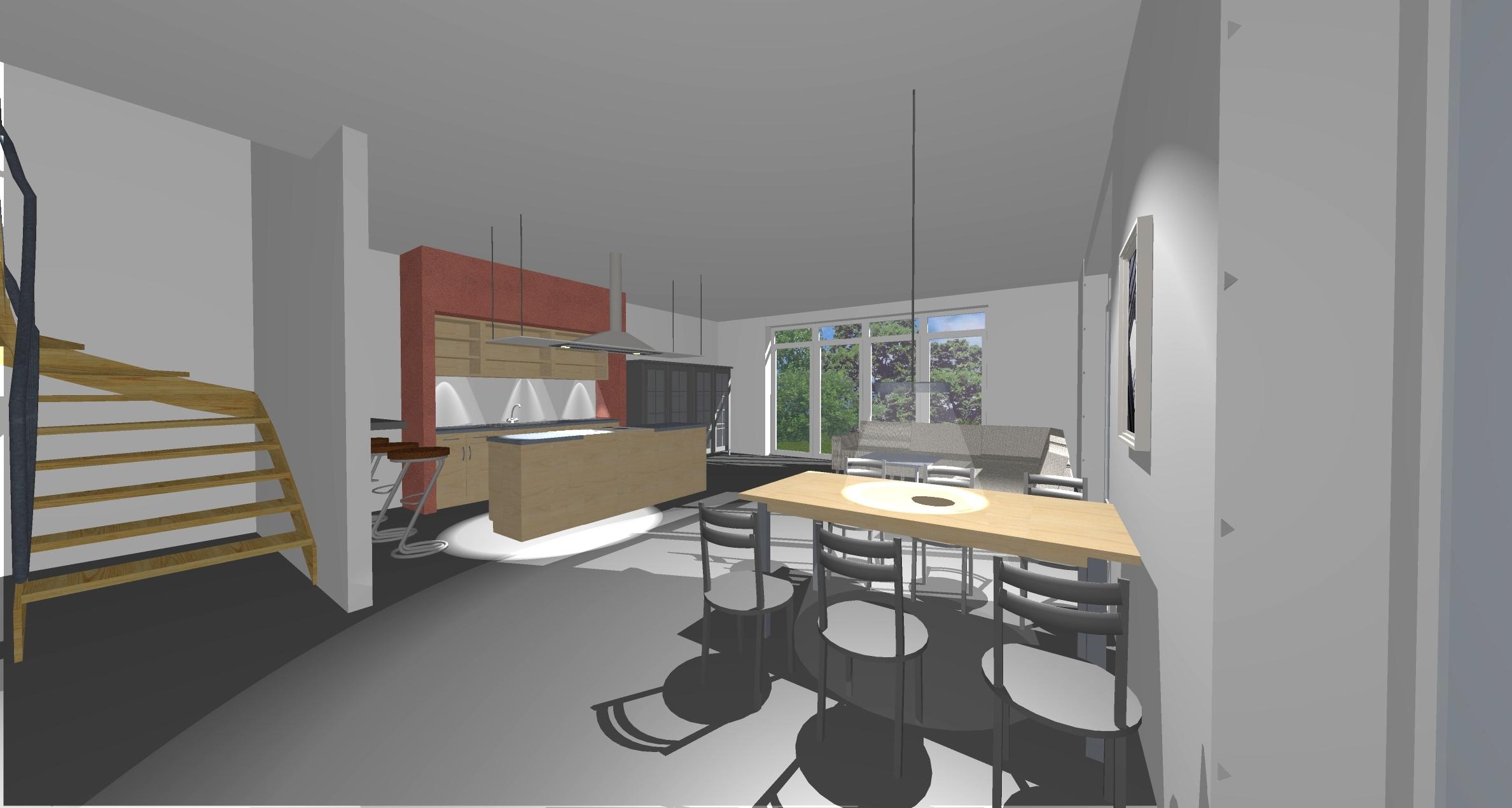 erweiterung und anbau eines wohnhauses und abbruch einer bestehenden garage